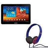 Pack Tablette Galaxy Tab 10.1' WiFi - 16 Go avec Casque Bluetooth Skullcandy FC Barcelone