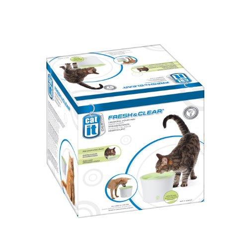 fresh and clear trinkbrunnen Catit Trinkbrunnen 3 Liter für Katzen und kleine Hunde