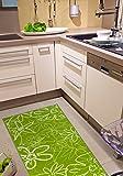 Küchenläufer Grün