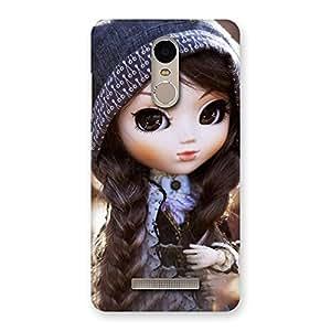 Premium Cute Beautiful Doll Back Case Cover for Xiaomi Redmi Note 3