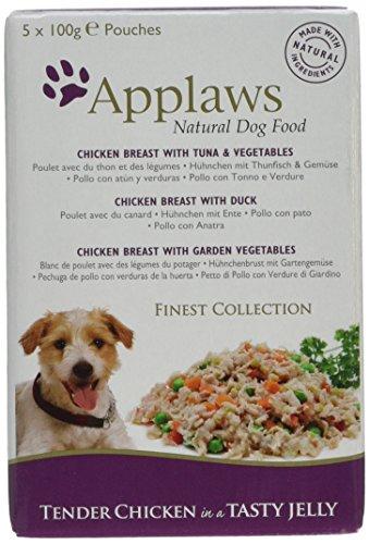Applaws, Bolsa de pechuga de pollo con verduras en un caldo de...