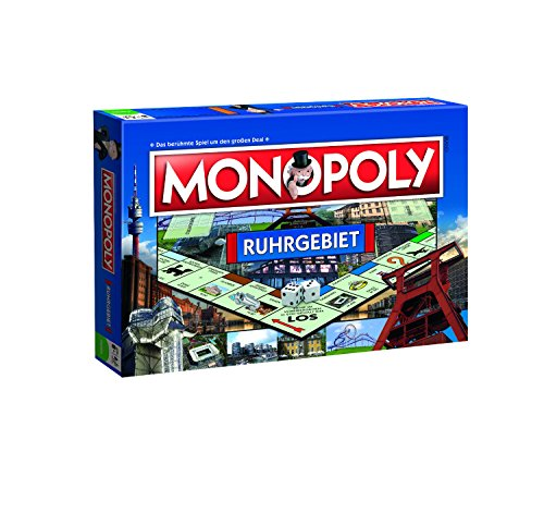 Winning Moves 40132 – Monopoly Ruhrgebiet Brettspiel Spiel Gesellschaftsspiel