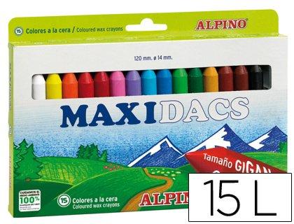 Alpino – Estuche Maxidacs 15 Completo Dx050216