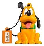 Tribe Disney Pluto - Memoria USB 2.0 de 16 GB Pendrive Flash Drive de goma con llavero, color...