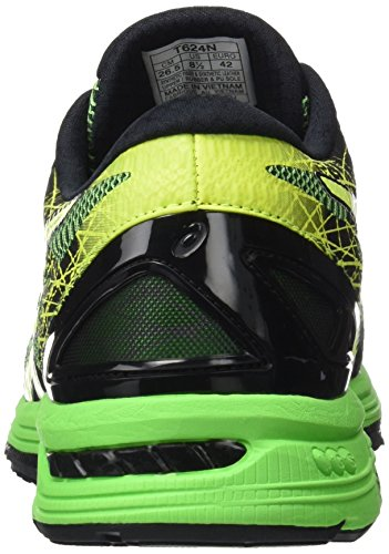 Asics Gel-Ds Trainer 21, Chaussures de Course Homme Verde (Black/Safety Yellow/Green Gecko)