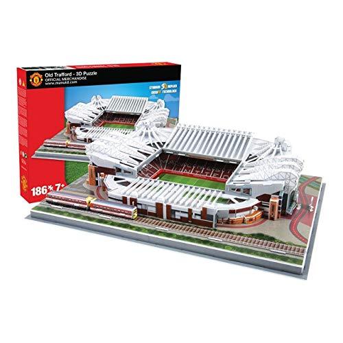 Estadio Old Trafford (Manchester United FC) - Nanostad - Puzzle 3D (Producto Oficial Licenciado)