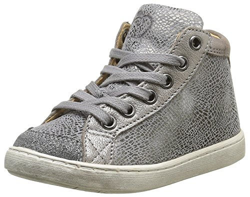 ShoopomPlay - Sneaker Bambina , Grigio (Gris(Burn Grid Grey Dust)), 27