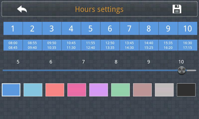 Stundenplan Pro Screenshot