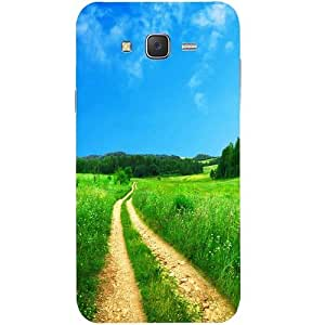 Casotec Scenery Design Hard Back Case Cover for Samsung Galaxy J7