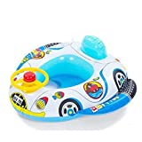 #3: Intra kids Inflatable Baby Seat Thickening Baby Swimming Boat Pool