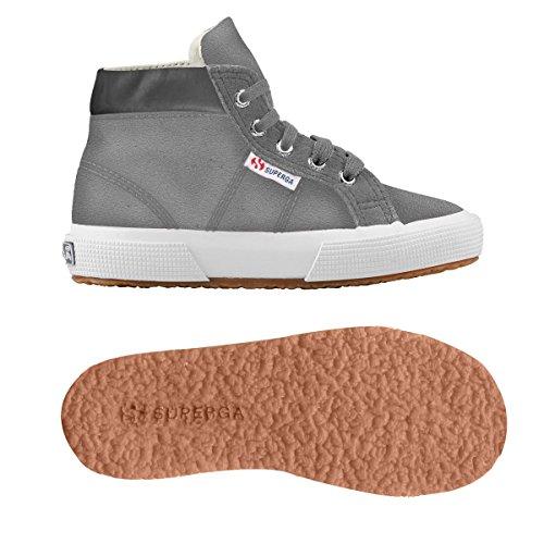 Superga 2204 - Suej, Unisex-Kinder Hohe Sneakers Grau (Light Grey)