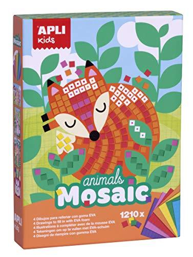 APLI Kids- Mosaico, Multicolor (14289)