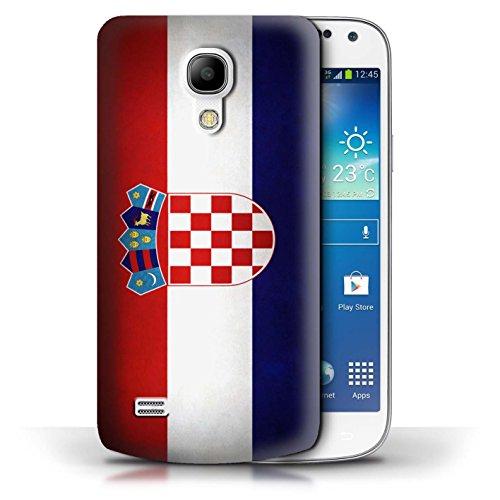 Etui / Coque pour Samsung Galaxy S4 Mini / Columbia/Colombie conception / Collection de Drapeau Croatie