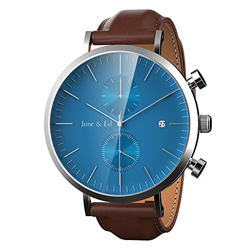 june-ed-quarz-armbanduhr-edelstahl-herrenuhr-armband-mit-saphir-kristall-wahlen-fenster-blau-w-0021