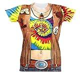 Widmann 98683 T-shirt Hippie für Frauen, Small
