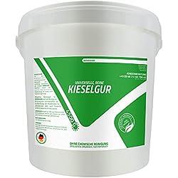 advanced - Reine Kieselgur 4,5 kg Eimer Ohne Chemische Reinigung Natur Pur