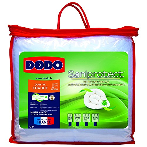 Dodo 29441 Saniprotect Couette Polyester Blanc 240 x 220 cm