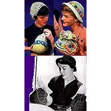 4 Bolso de ganchillo y Crochet Hat patrones de coincidencia (Spanish Edition)