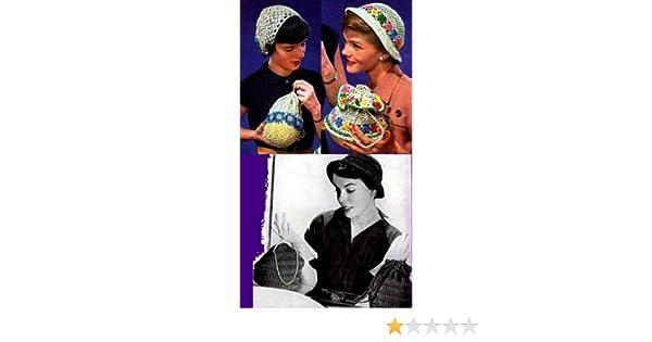 4 Passende gehäkelt Geldbeutel und häkeln Hut Muster eBook: Unknown ...