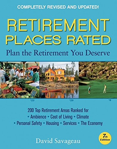 Retirement Places Rated: What You Need to Know to Plan the Retirement You Deserve PDF Books