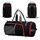 P.KU.VDSL® Sports Duffel Wasserdichte Sporttasche Crossbody Large Sport Bag Packable