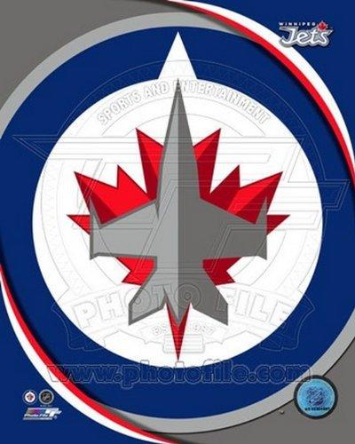 The Poster Corp Winnipeg Jets 2011 Team Logo Photo Print (40,64 x 50,80 cm) Winnipeg Jets-logos