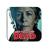 BigBazza The Walking Dead Carol TV Peletier, Kaffee, Tee, Tasse, Becher, Untersetzer, aus Metall