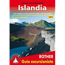 Islandia, 55 excursiones, guía excursionista. Rother.