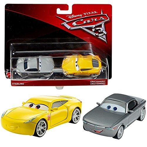 :55 - Auto Fahrzeuge Doppelpack zur Auswahl, Typ:Sterling & Cruz Ramirez (Cast Autos)