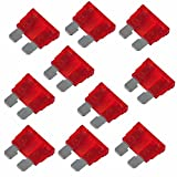 10 Stück 10A Rot Standard ATO/ATC Kfz Sicherung