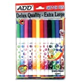 #7: ADD gel sketch pen set of mix ink colours pack of 12 pcs