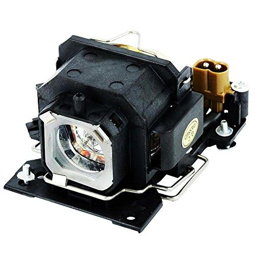 Molgoc DT00821/CPX5LAMP Projektor-Ersatzlampe mit Gehäuse, kompatibel mit Hitachi CP-X264/x3//x5/X3W/x5w
