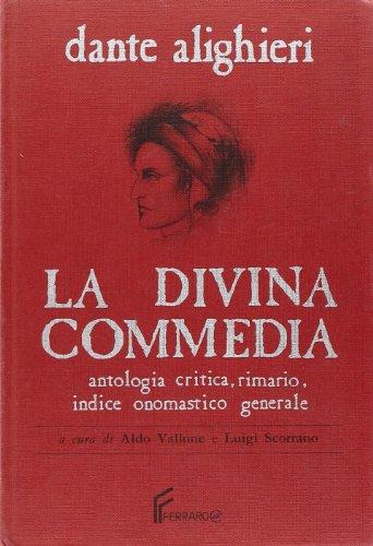 La Divina Commedia. Rimario