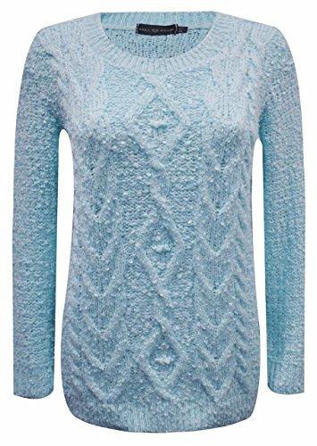 Sugerdiva - Robe - Pull - Femme Turquoise