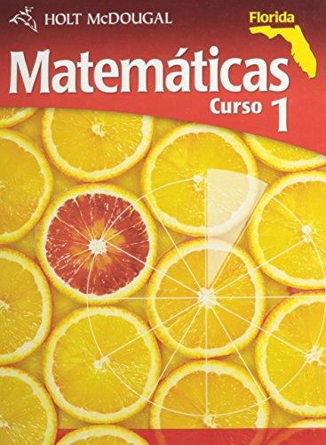 Matematicas Curso 1, Florida/Mathematics Course 1, Florida por Jennie M. Bennett