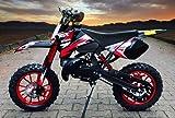 "Coyote 49cc 10"" Neues Design Bike Cross Pocket Mini quad"