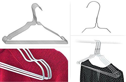 grucce-in-metallo-filo-100-pz-zincato-camicie-e-camicie-nuovo