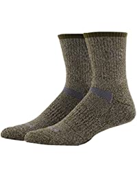 MEIKAN Calcetines de Senderismo Coolmax Trekking de Lana Merino, Calcetines de Rendimiento para entusiastas de los Deportes al Aire Libre,…