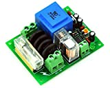 Electronics-Salon 220 VAC Netz Power On Delay Softstart-Schutz-Modul, mit 12 VDC Regulator.
