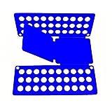 Primi rapidamente Magic impilati facilmente vestiti vestiti Board Tshirts cartella organizer in piega (blu)