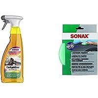 SONAX CockpitStar (750 ml) reinigt und pflegt alle Kunststoffteile im Auto, antistatisch und staubabweisend…