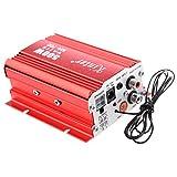 Amplificador - Kinter MA 700 Auto USB FM MP3 Amplificador con Mando a distancia (2 canales, 500 vatios, AUX)