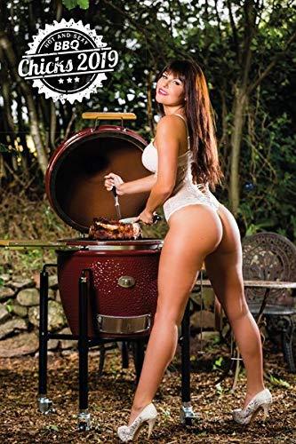 BBQ-Chicks erotischer Grillkalender 2019 - Barbecue calender - Küchenkalender