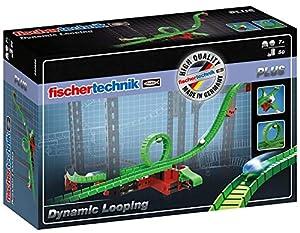 Fischertechnik Looping- Amplia tus Circuitos de Canicas con este Juego Educativo y Divertido de Construcción que tiene 50 Piezas