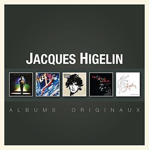 Coffret 5CD (Follow the Live & Higelin - Le Rex & Higelin enchante Trenet & En plein Bataclan & Paris Zénith)