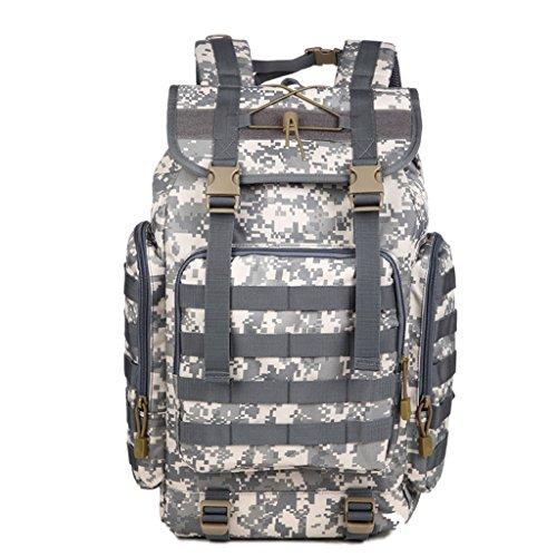 AMOS Outdoor Bergsteigen Tasche Schulter 50L männlichen und weiblichen großen Kapazität Reise Tarn Rucksack Outdoor Bergsteigen Tasche D
