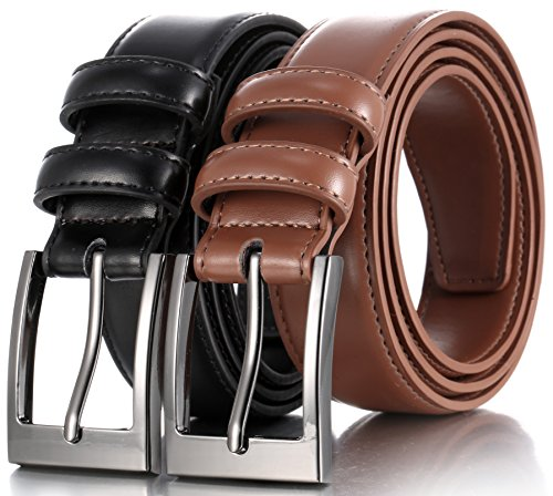 marinos-men-genuine-leather-dress-belt-with-single-prong-buckle-black-tan-38