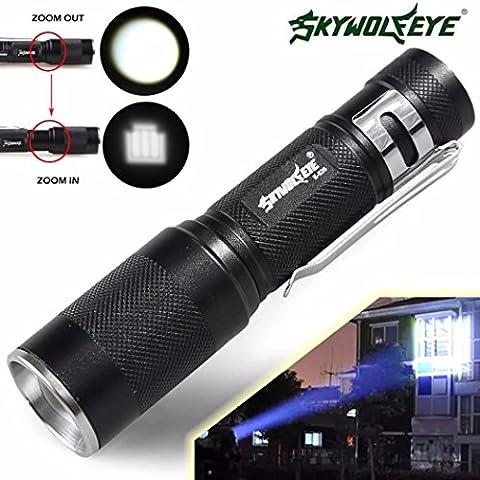 SOMESUN 4000LM Zoomable CREE XM-L Q5 LED Lampe de poche