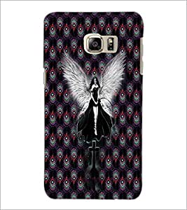 PrintDhaba Angel D-3005 Back Case Cover for SAMSUNG GALAXY NOTE 5 EDGE (Multi-Coloured)