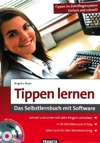 "3D Tipptrainer mit Begleitbuch \""Tippen lernen\"""